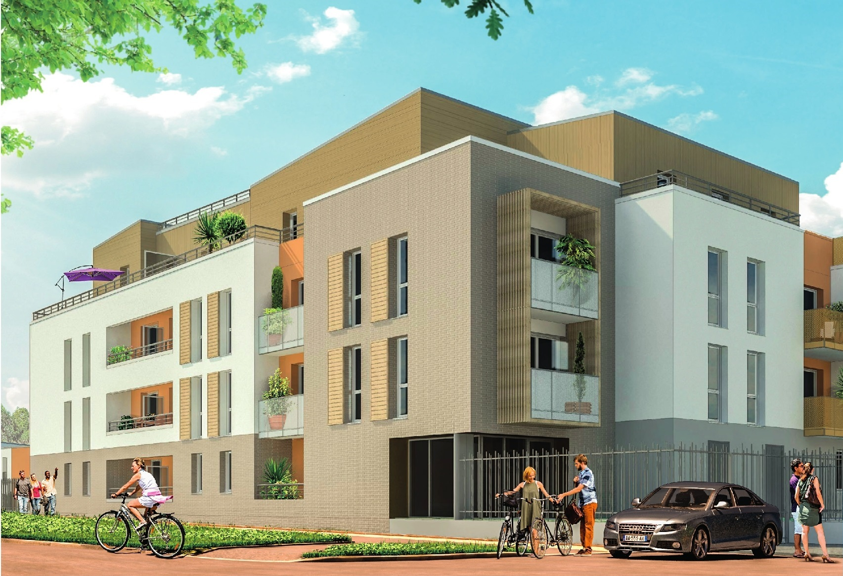 vente Appartement 2 pièces Saint Jean de Braye 45800