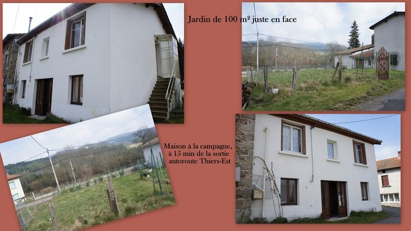 vente maison/villa 5 pièces Celles-sur-Durolle 63250