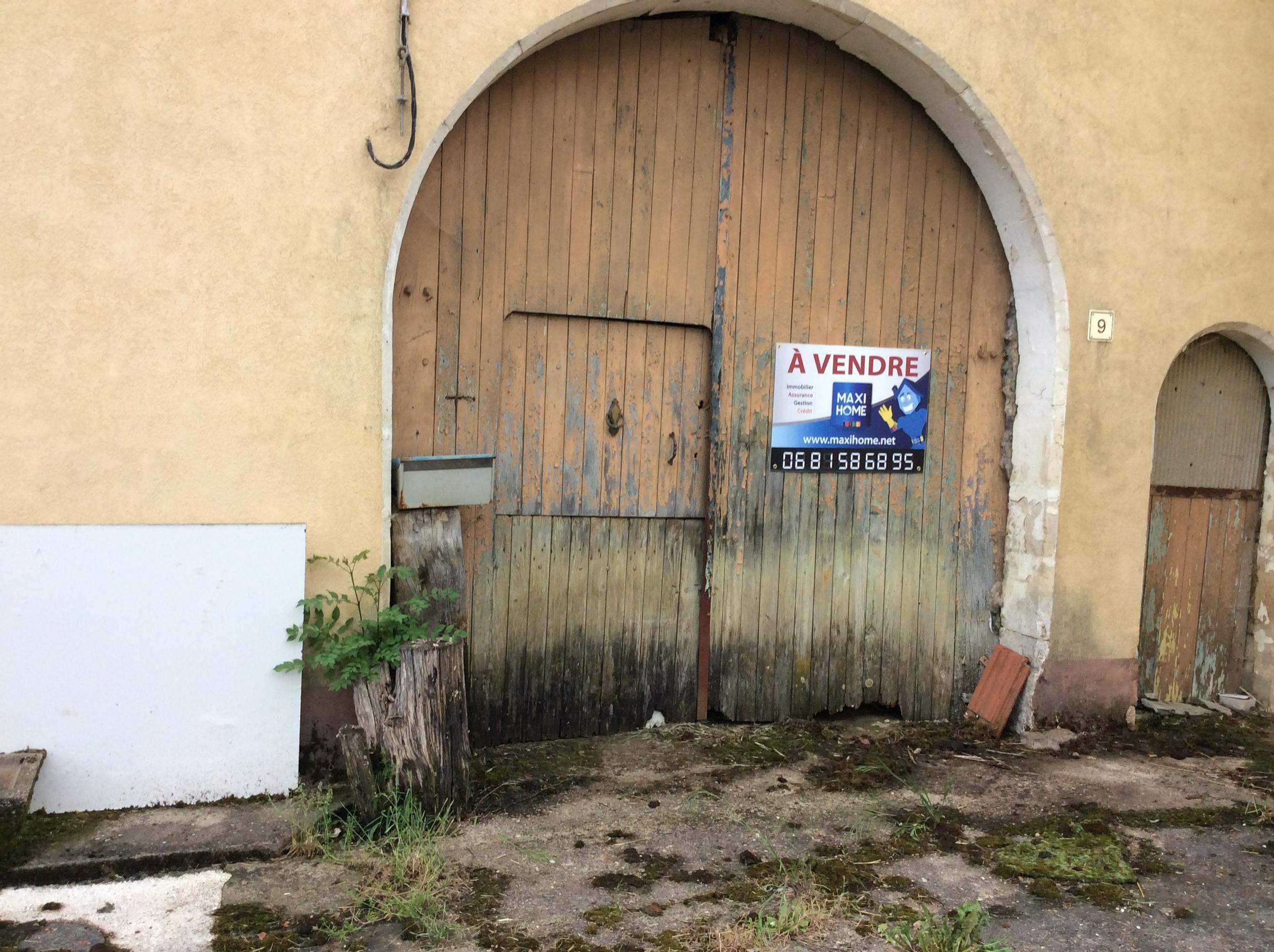 vente maison/villa 4 pièces Beuvezin 54115