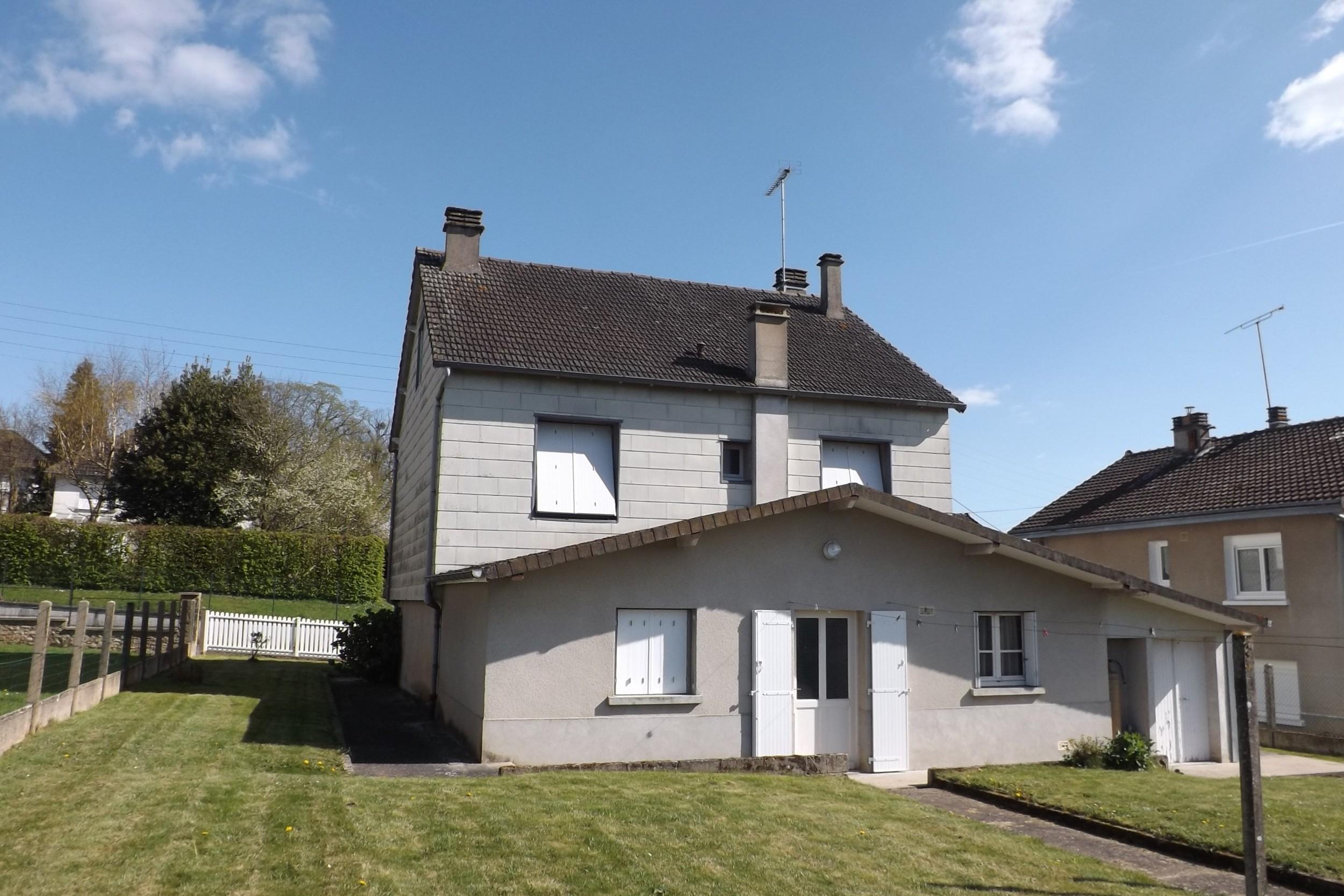 Annonce vente maison dun le palestel 23800 124 m 126 - Vente d une maison ...