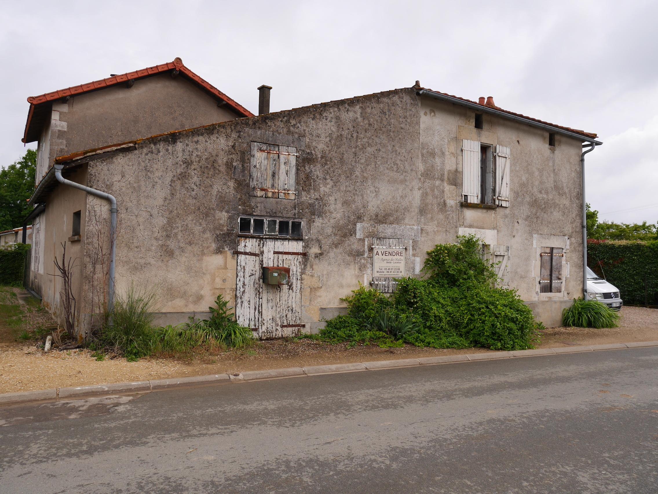 vente maison/villa 3 pièces Brion 86160