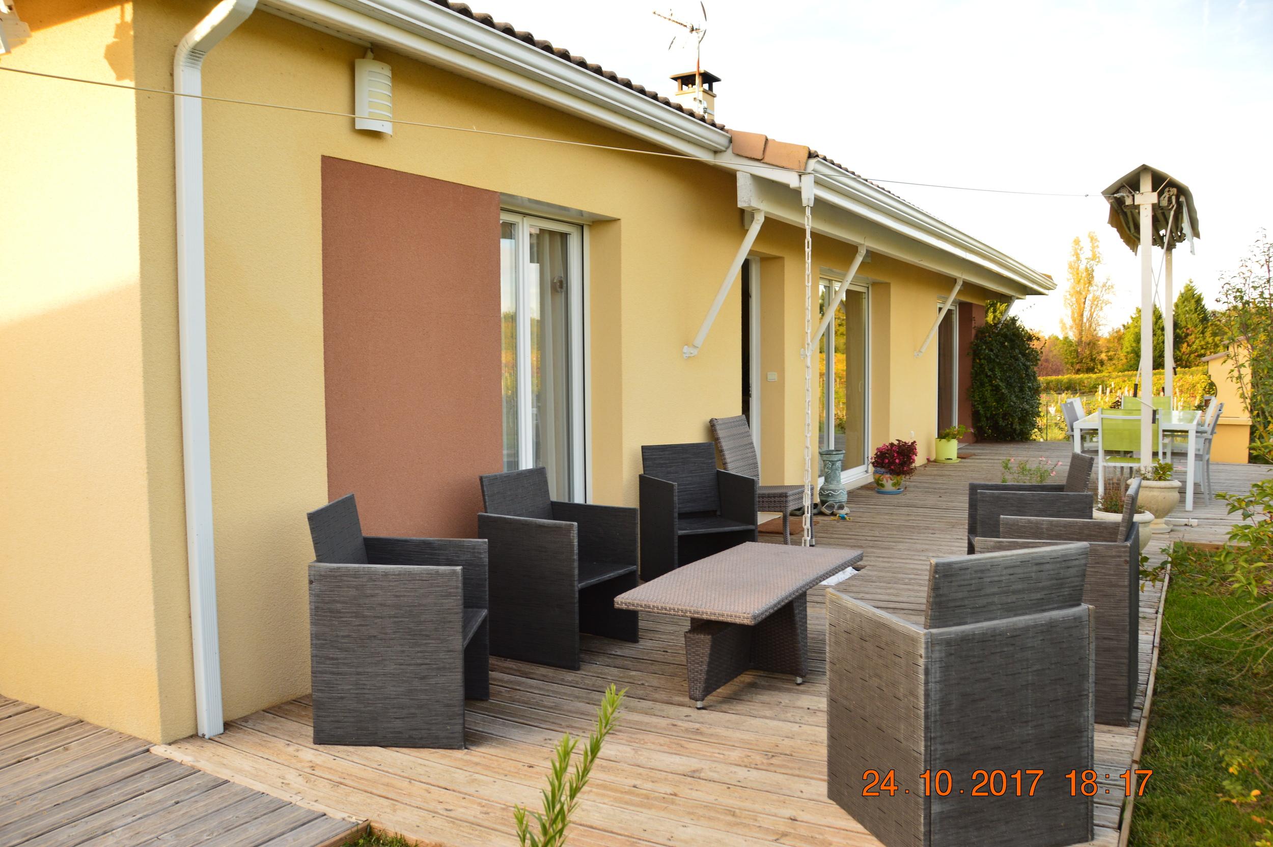 vente maison/villa 5 pièces Yvrac 33370