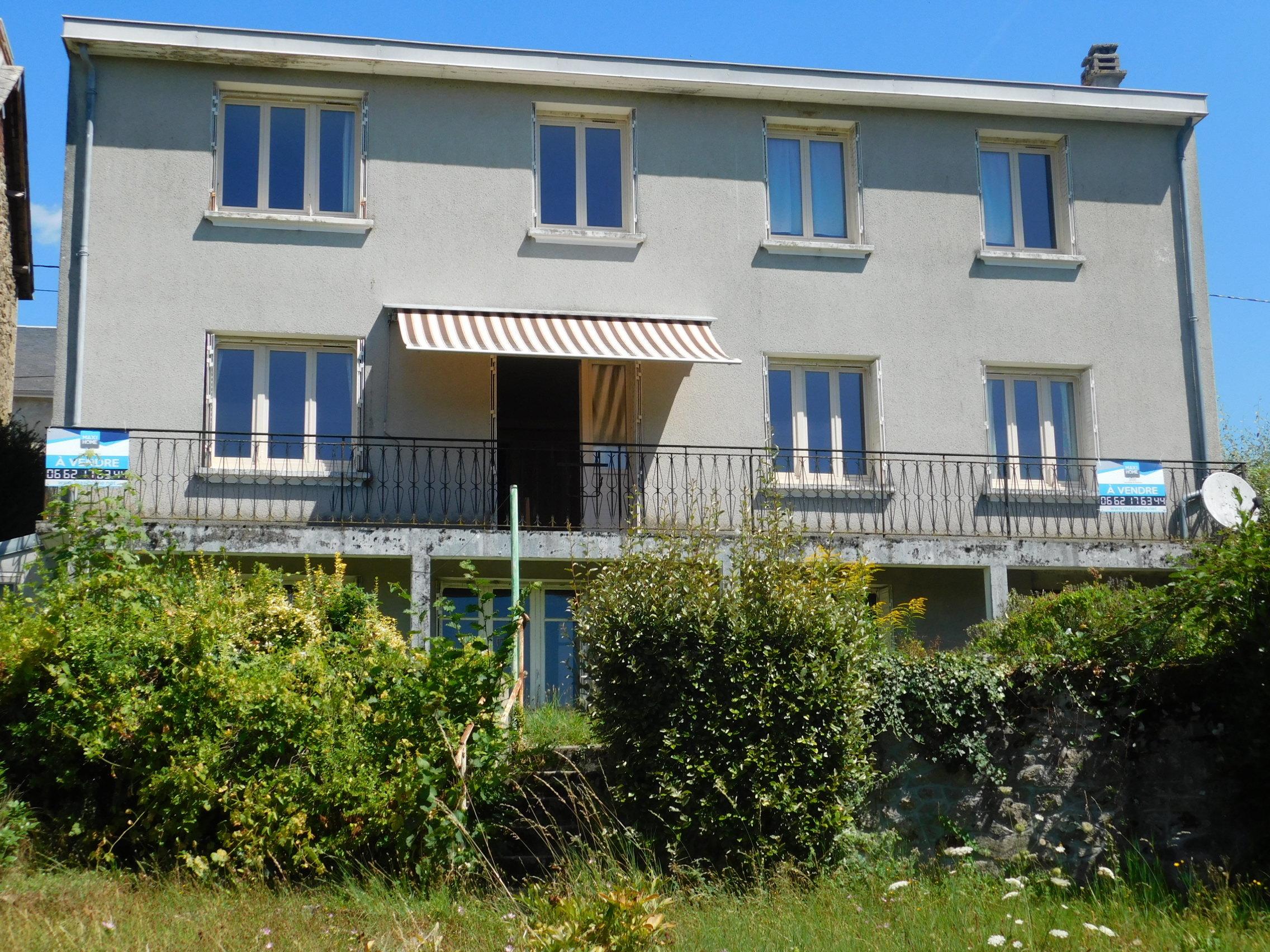 vente maison/villa 7 pièces Marsac 23210
