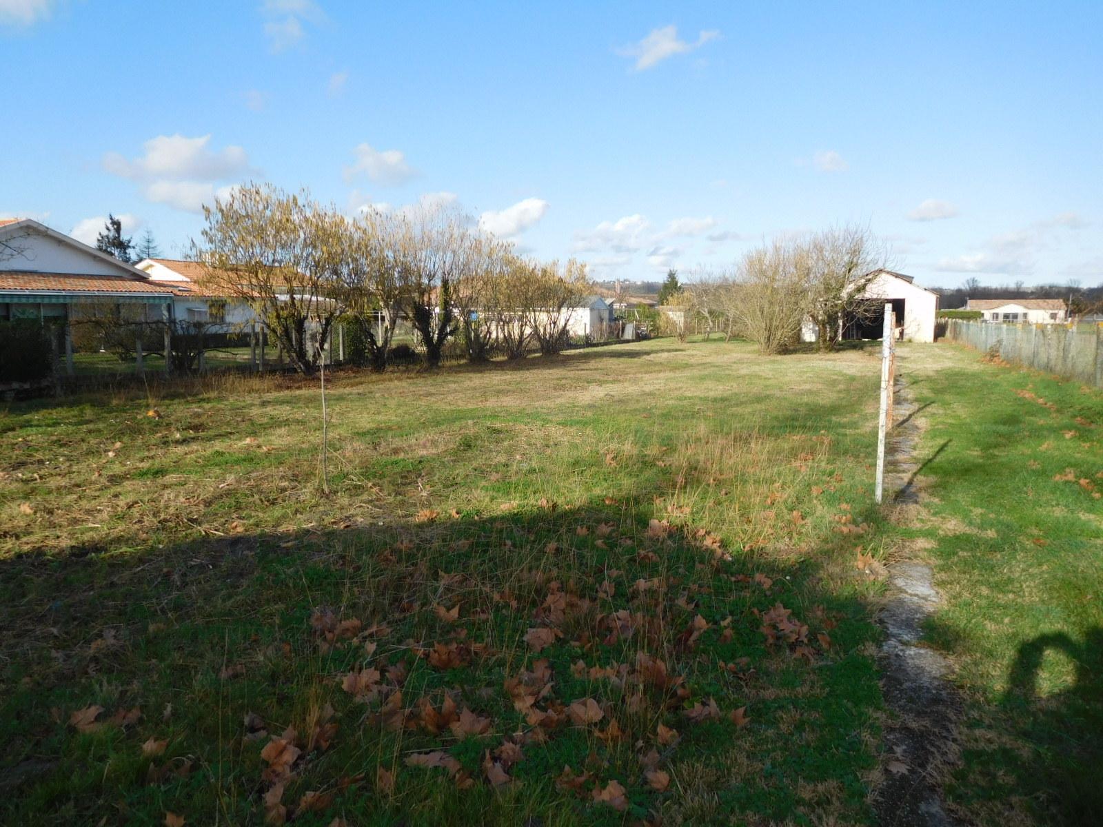 vente terrain Toulenne Toulenne 33210