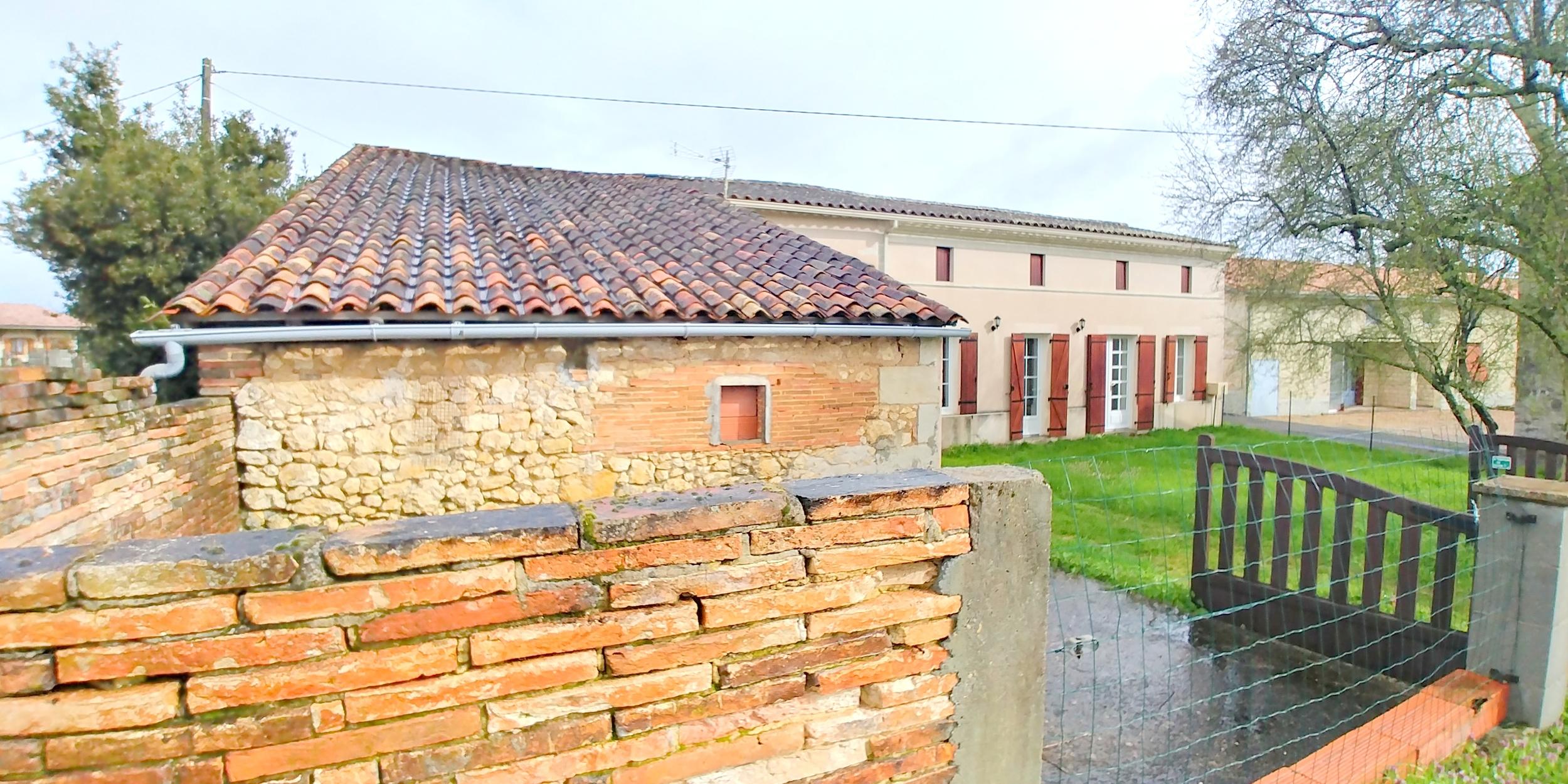vente maison/villa 4 pièces Clérac 17270