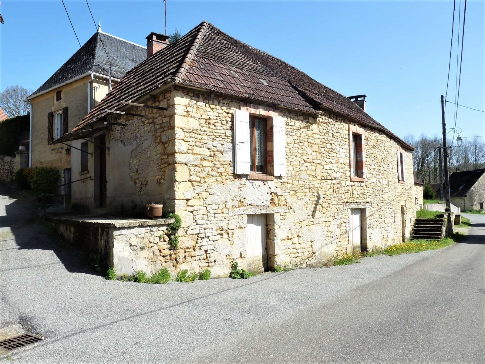 vente maison/villa 4 pièces Gourdon 46300
