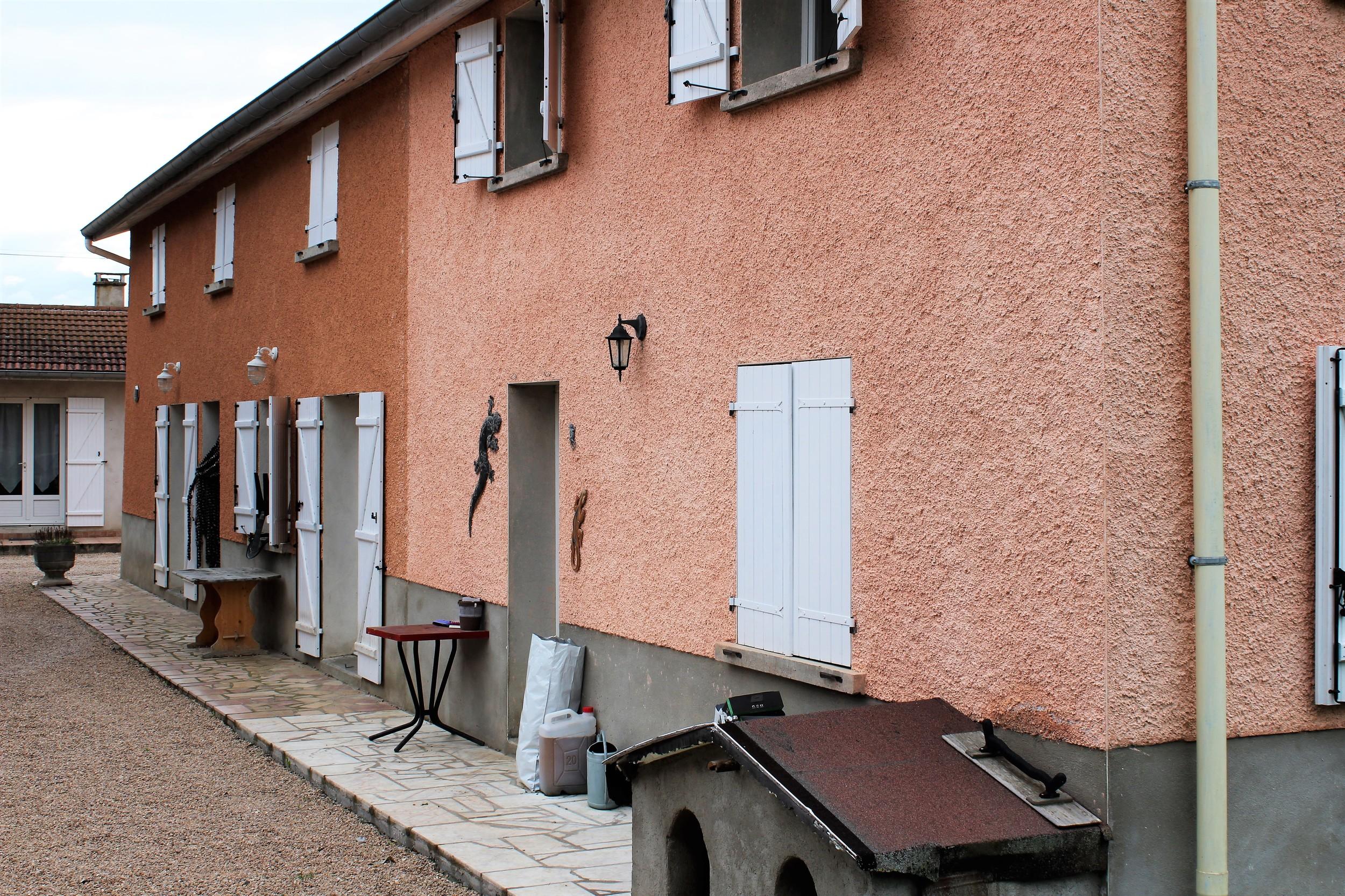 vente maison/villa 14 pièces Poncins 42110