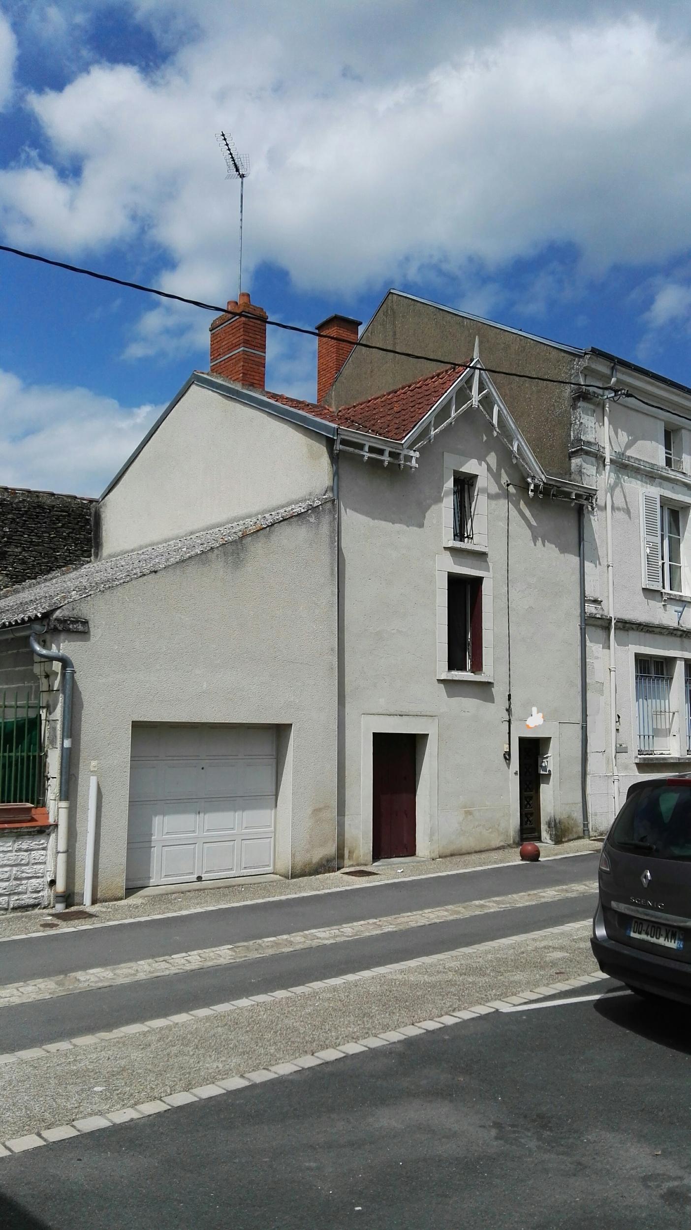 vente maison/villa 3 pièces Lencloître 86140