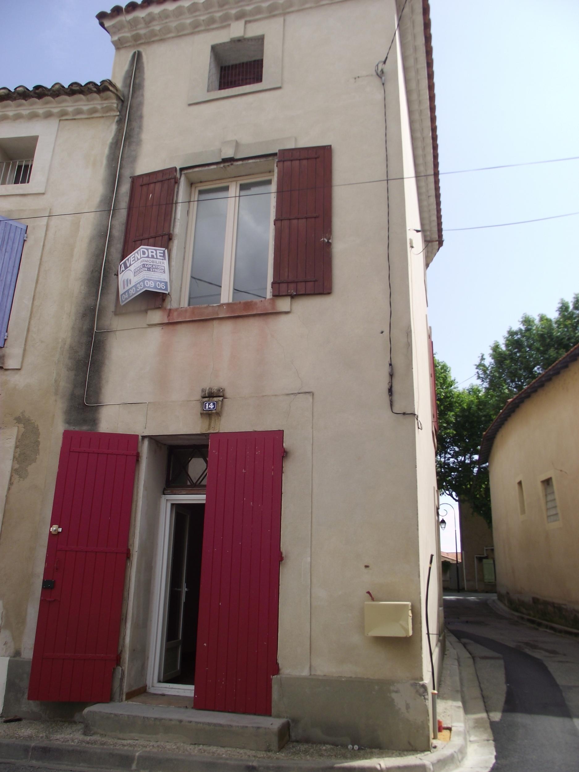 vente maison/villa 3 pièces Bedarrides 84370