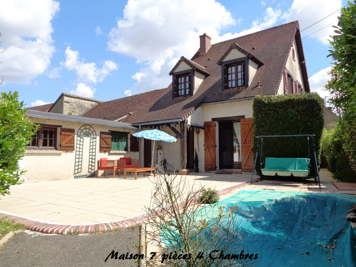 vente maison/villa 6 pièces La Loupe 28240