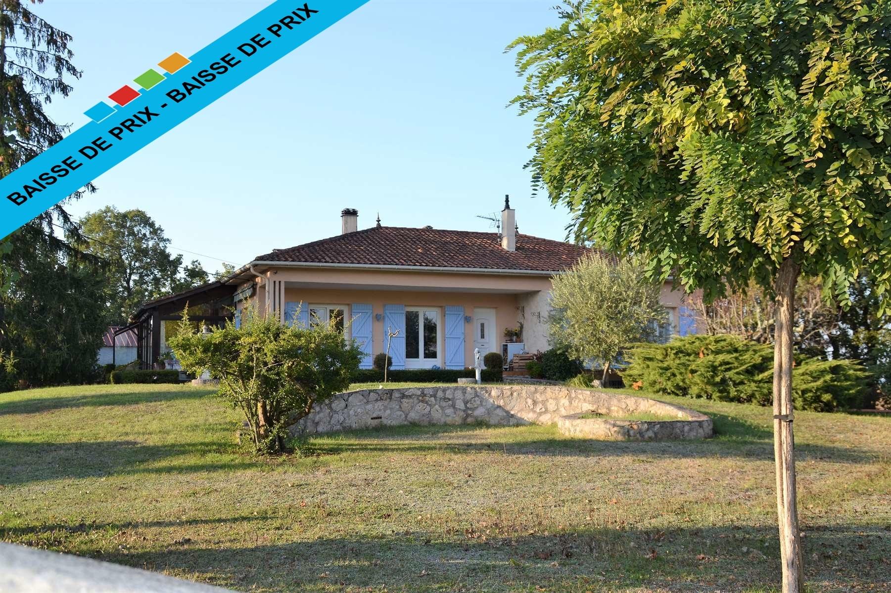 vente maison/villa 6 pièces Laroque-Timbaut 47340