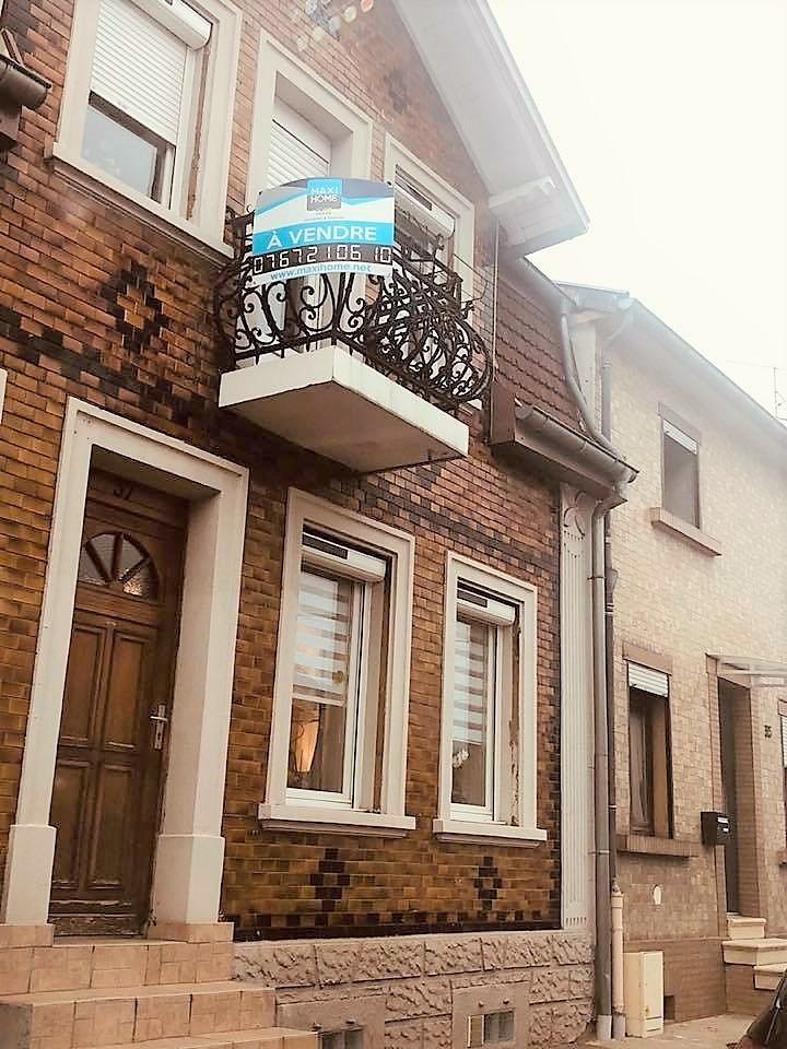 vente maison/villa 6 pièces Forbach 57600