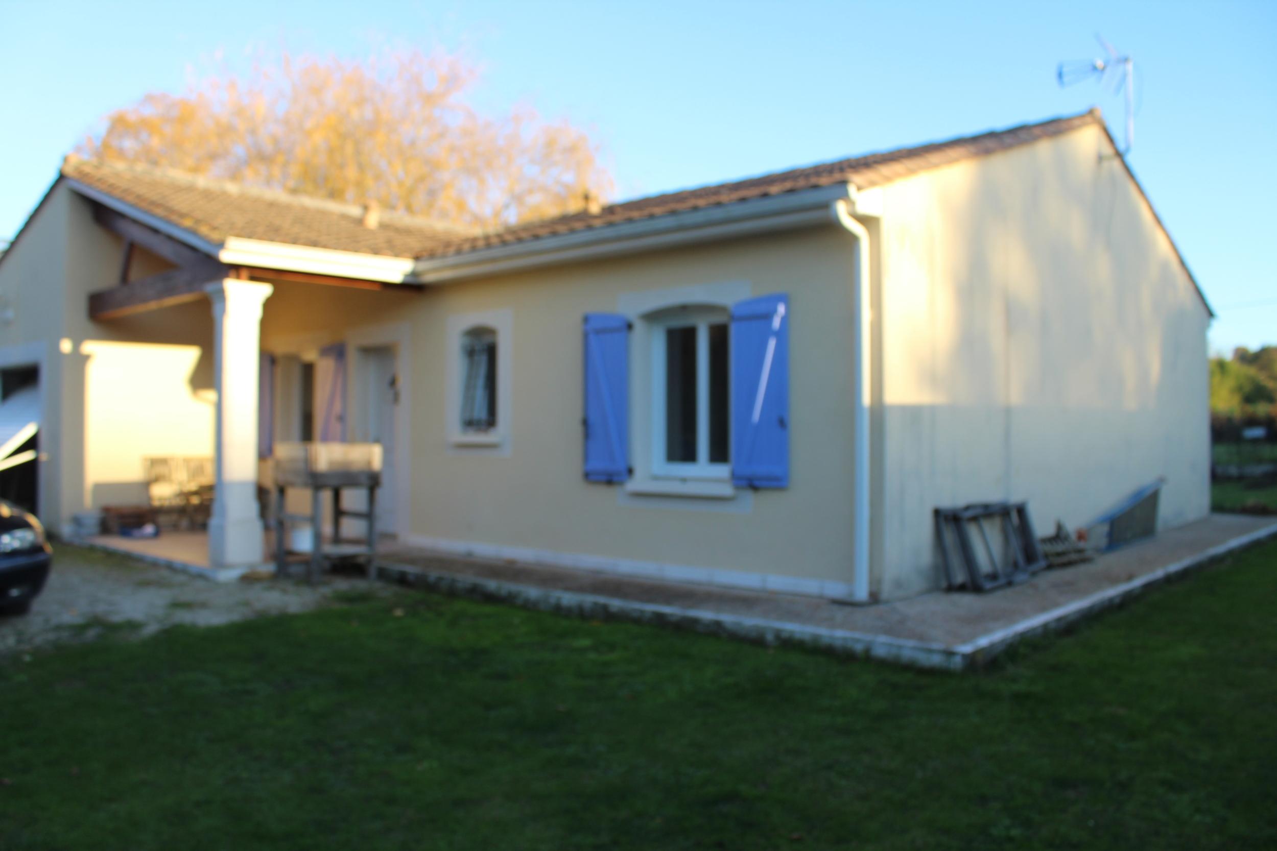 vente maison/villa 4 pièces La Couronne 16400