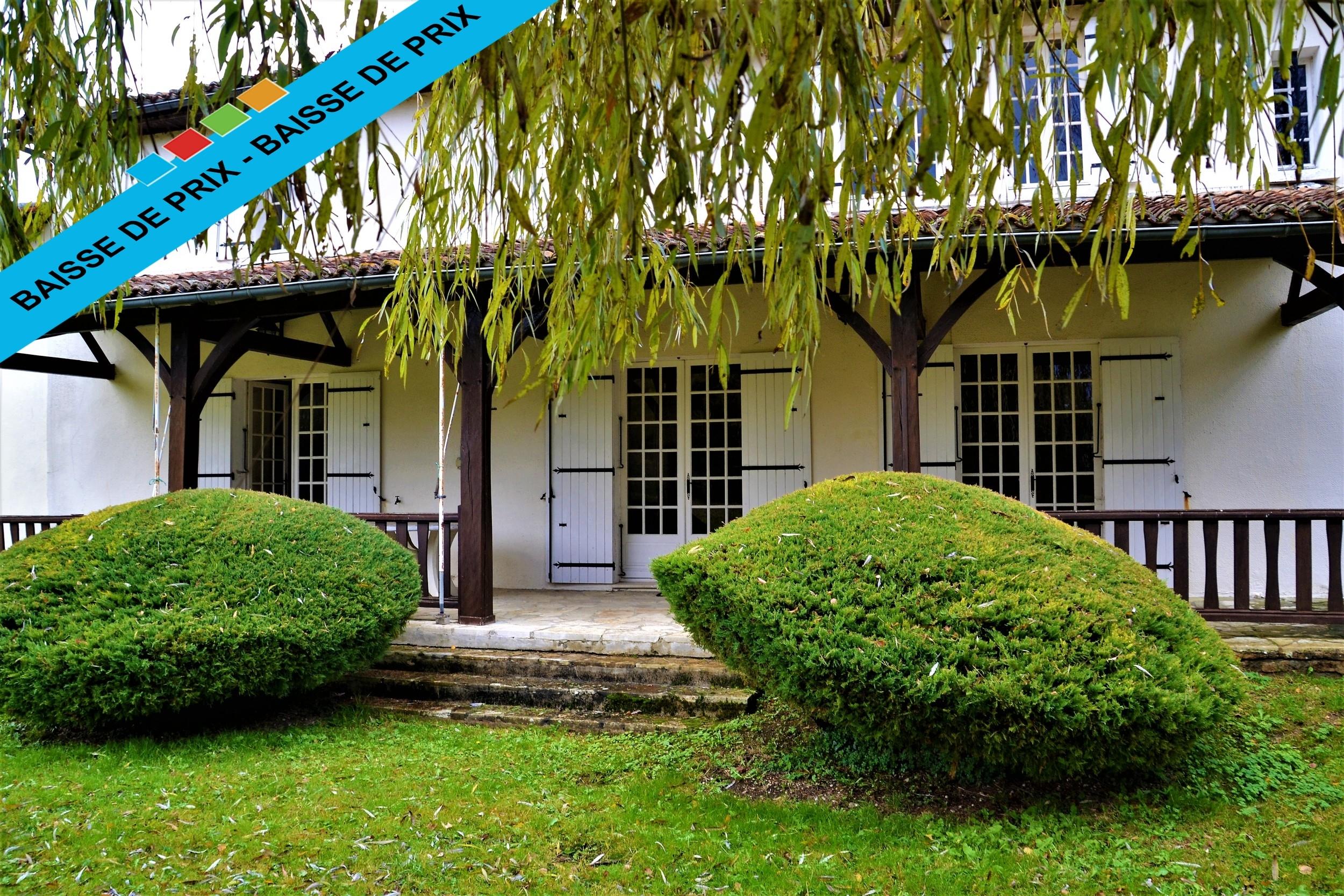 vente maison/villa 7 pièces Verteillac 24320