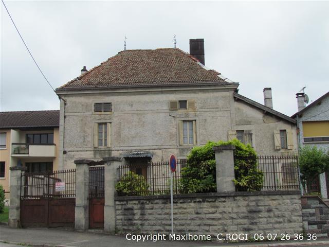 vente maison/villa 12 pièces Neufchateau 88300