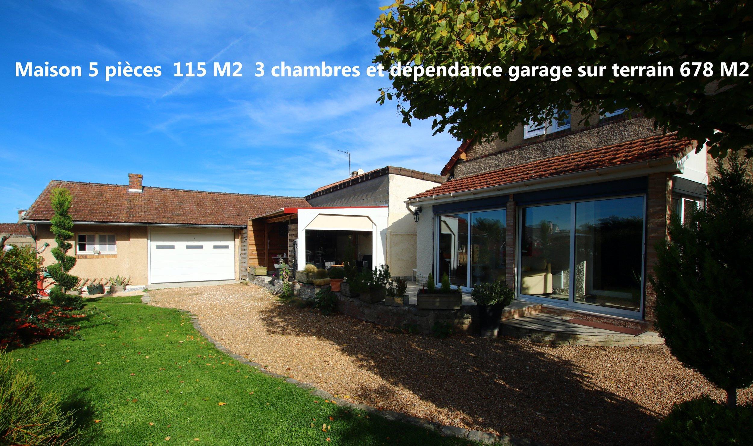 vente maison/villa 4 pièces Maintenon 28130