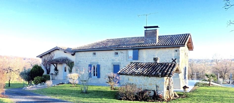 vente maison/villa 7 pièces Lauzun 47410